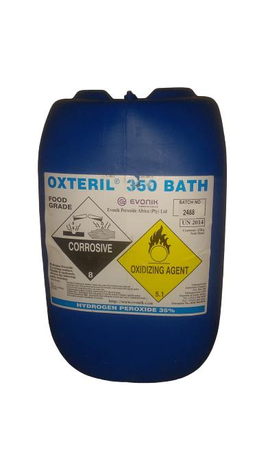 Hydrogen Peroxide 35% 25L